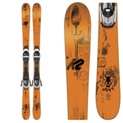 K2 Juvy Kids Skis with Marker Fastrak2 4.5 Bindings 2017, , medium