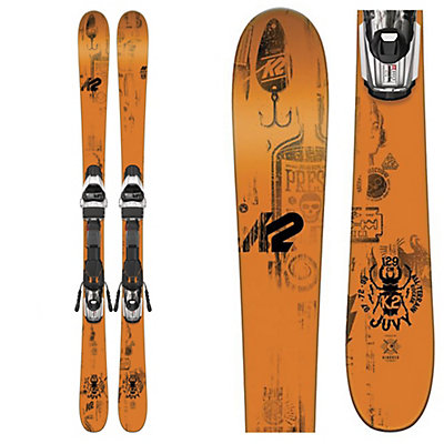 K2 Juvy Kids Skis with Marker Fastrak2 4.5 Bindings 2017, , viewer