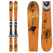 K2 Juvy Kids Skis with Marker Fastrack2 7.0 Bindings 2017, , medium