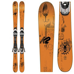 K2 Juvy Kids Skis with Marker Fastrack2 7.0 Bindings 2017, , 256