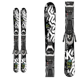 K2 Indy Kids Skis with Marker Fastrak2 4.5 Bindings 2017, , 256