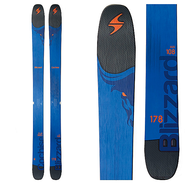 Blizzard Cochise Skis 2017, , 600