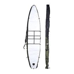 Riviera Paddlesurf Raceboard 12'6 Bag 2017, Black-Army, 256
