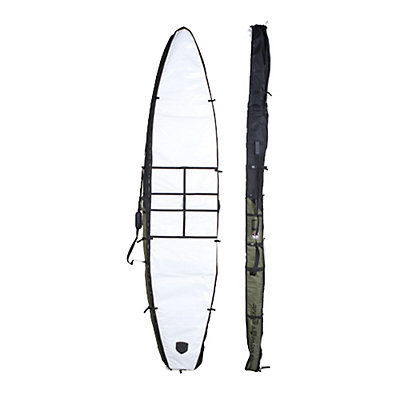 Riviera Paddlesurf Raceboard 12ft 6in Bag 2017, Black-Army, viewer