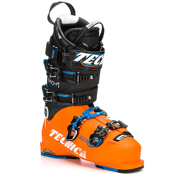 Tecnica Mach 1 130 LV Ski Boots 2017, Orange-Black, 600