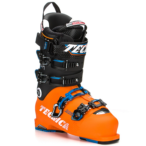 Tecnica Mach 1 130 MV Ski Boots, Orange-Black, 600