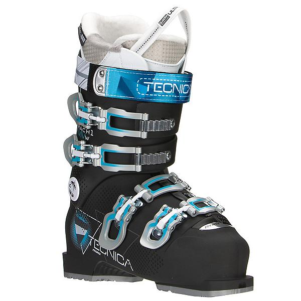 Tecnica Mach 1 85 W MV Womens Ski Boots 2017, Black, 600