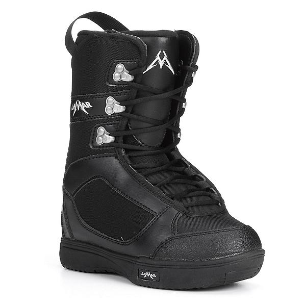 Lamar Squirt Kids Snowboard Boots, Black, 600
