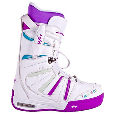 Lamar Express Womens Snowboard Boots, White, viewer