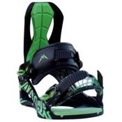 Lamar Siren Womens Snowboard Bindings, Black-Green, medium
