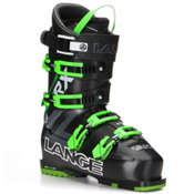 Lange RX 130 Ski Boots 2017, Black-Green, medium