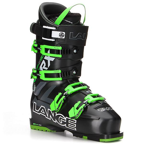 Lange RX 130 Ski Boots 2017, Black-Green, 600