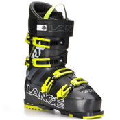 Lange RX 120 Ski Boots, Anthracite-Yellow, medium