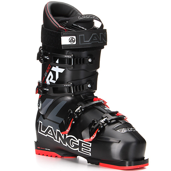 Lange RX 100 Ski Boots, Black-Red, 600