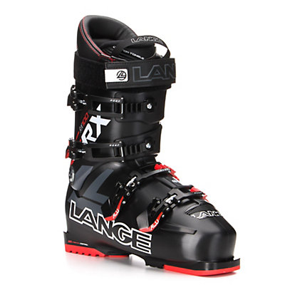 Lange RX 100 Ski Boots, Black-Red, viewer