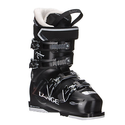 Lange RX 80 Womens Ski Boots, Black, viewer
