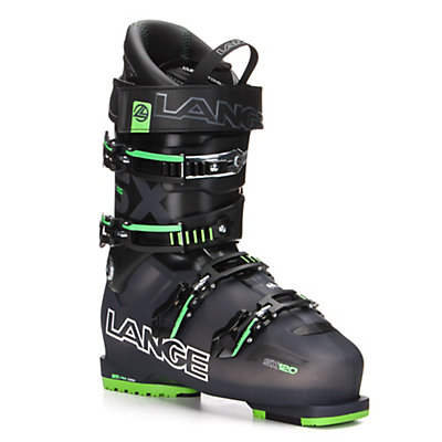 Lange SX 120 Ski Boots 2017, Black-Green, viewer