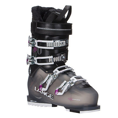 Lange SX 80 W Womens Ski Boots, Anthracite-Magenta, viewer