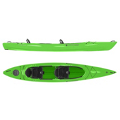 Wilderness Systems Pamlico 145T Tandem Kayak 2016, Lime, medium