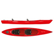 Wilderness Systems Pamlico 145T Tandem Kayak 2016, Red, medium
