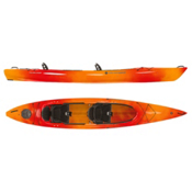 Wilderness Systems Pamlico 145T Tandem Kayak 2016, Mango, medium