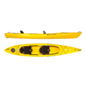 Wilderness Systems Pamlico 145T Tandem Kayak 2016, Saffron, medium