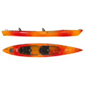 Wilderness Systems Pamlico 145T Tandem Kayak 2017, Mango, medium