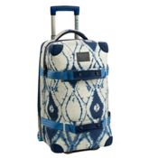 Burton Wheelie Flight Deck Bag, Indigo Batik, medium