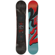 K2 Vandal Wide Boys Snowboard 2016, 145cm Wide, medium