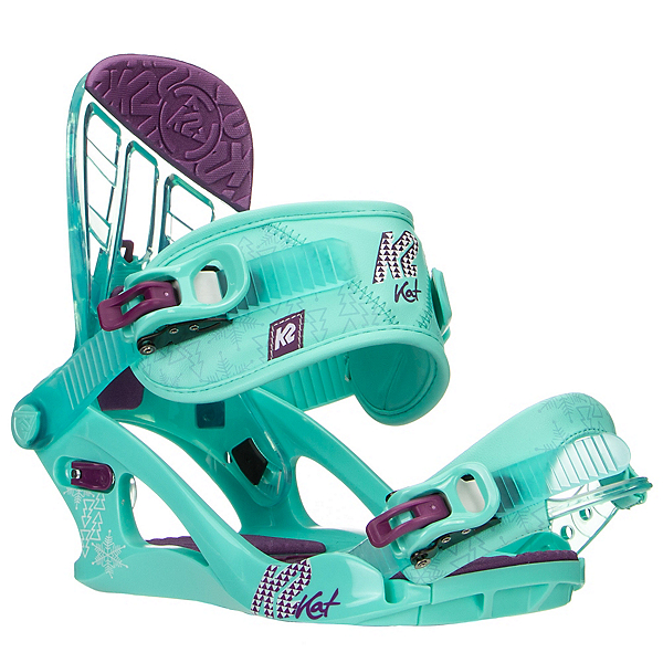 K2 Kat Girls Snowboard Bindings, , 600
