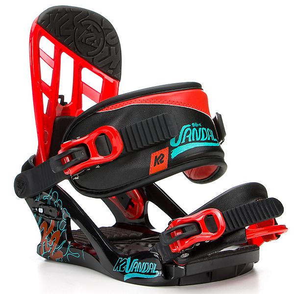 K2 Vandal Kids Snowboard Bindings, , 600