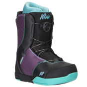 K2 Kat Boa Girls Snowboard Boots, Black, medium