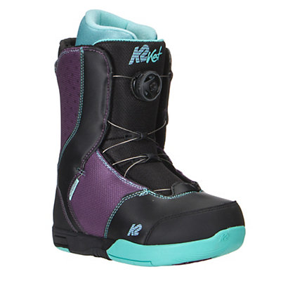 K2 Kat Boa Girls Snowboard Boots, Black, viewer