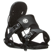 Flow Five Snowboard Bindings, Black, medium