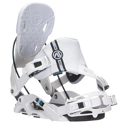 Flow Nexus Hybrid Snowboard Bindings, White, medium