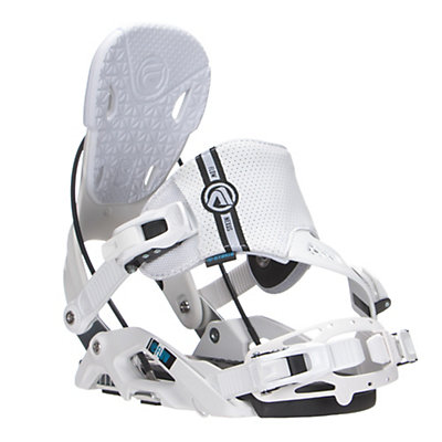 Flow Nexus Hybrid Snowboard Bindings, White, viewer