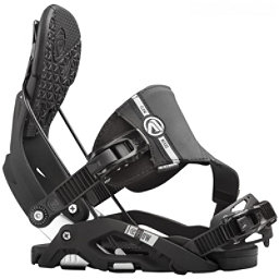 Flow Nexus Hybrid Snowboard Bindings, Black, 256