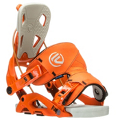 Flow Fuse Snowboard Bindings, Orange, medium