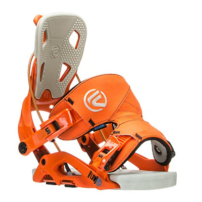 Flow Fuse Snowboard Bindings, Orange, viewer
