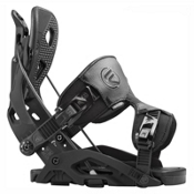 Flow Fuse Snowboard Bindings, Black, medium