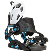 Flow Fuse-GT Hybrid Snowboard Bindings, Black-Blue, medium