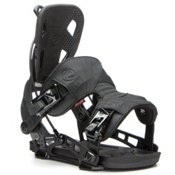 Flow NX2 Snowboard Bindings, Black, medium