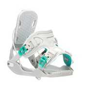 Flow Haylo Womens Snowboard Bindings, Grey, medium