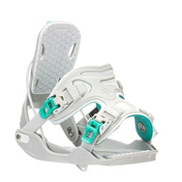 Flow Haylo Womens Snowboard Bindings, Grey, 256