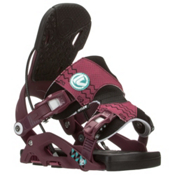 Flow Juno Womens Snowboard Bindings 2016, Purple, medium