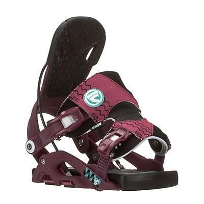 Flow Juno Womens Snowboard Bindings, Purple, viewer