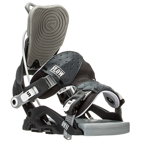 Flow Omni Womens Snowboard Bindings, Gunmetal, 600
