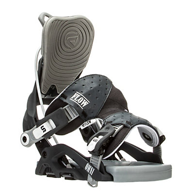 Flow Omni Womens Snowboard Bindings, Gunmetal, viewer