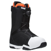 Flow Vega Boa Snowboard Boots, Black-White, medium