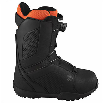 Flow Vega Boa Snowboard Boots, Black-White, viewer